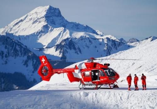helicoptère de secours